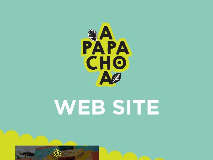 Apapachoa Página Web